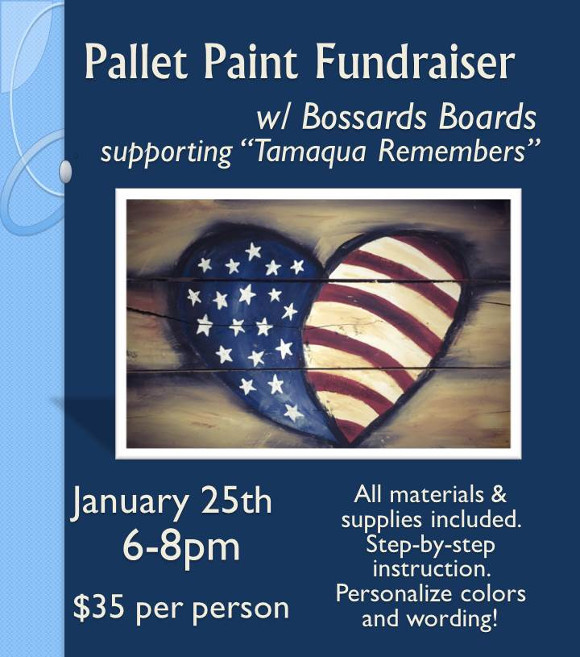 Pallet Paint Fundraiser