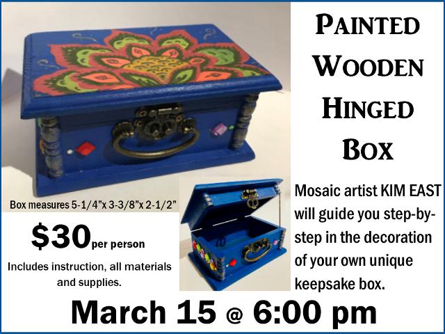 Mosaic Box Workshop