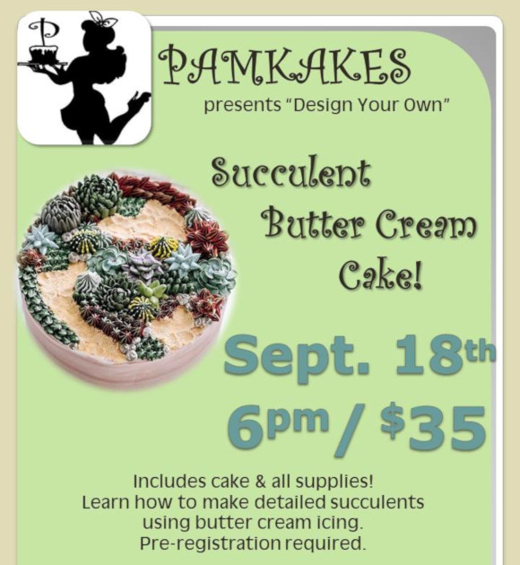 "Pamkakes: ""Design Your Own"" Cake"