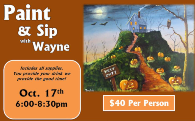 Paint & Sip with Wayne