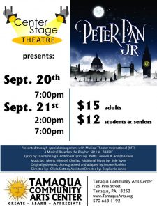 Peter Pan Jr. presented by Center Stage Theatre