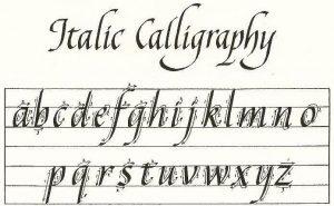 Learn Italic Calligraphy with Sharon Chromiak