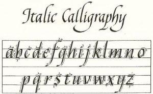 Learn Italic Calligraphy with Sharon Chromiak