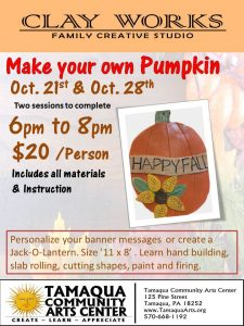 Make your own Slab Rolled Pumpkin