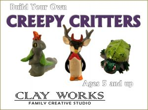 Build your own Creepy Critters - Ages 5 and up