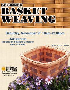 Beginners Basket Weaving
