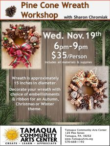 Wreath Making Workshop - Pine Cone