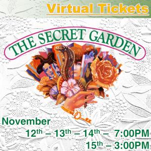 The Secret Garden Musical - Virtual Show